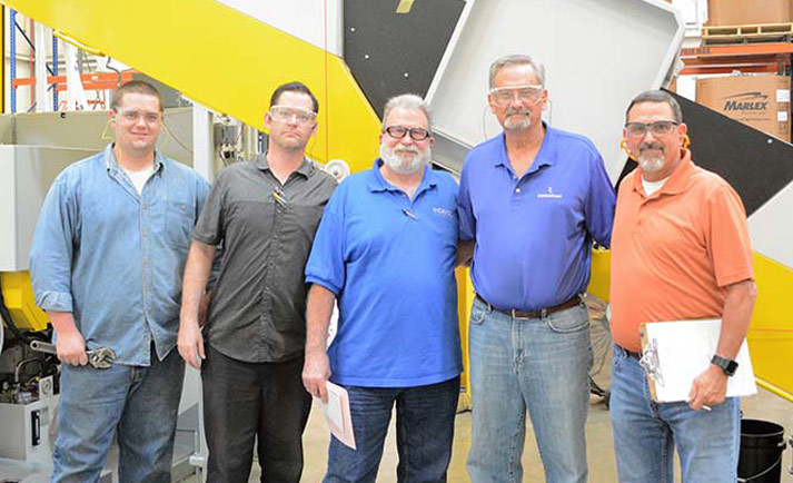INDEVCO Plastics Manufacturing - Team Photo